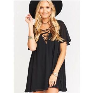 SHOW ME YOUR MUMU Black Rancho Vista Dress